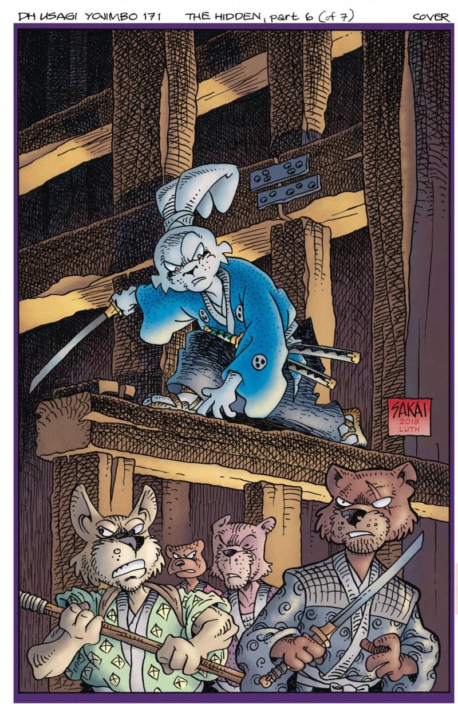 Usagi Yojimbo the Hidden #6
