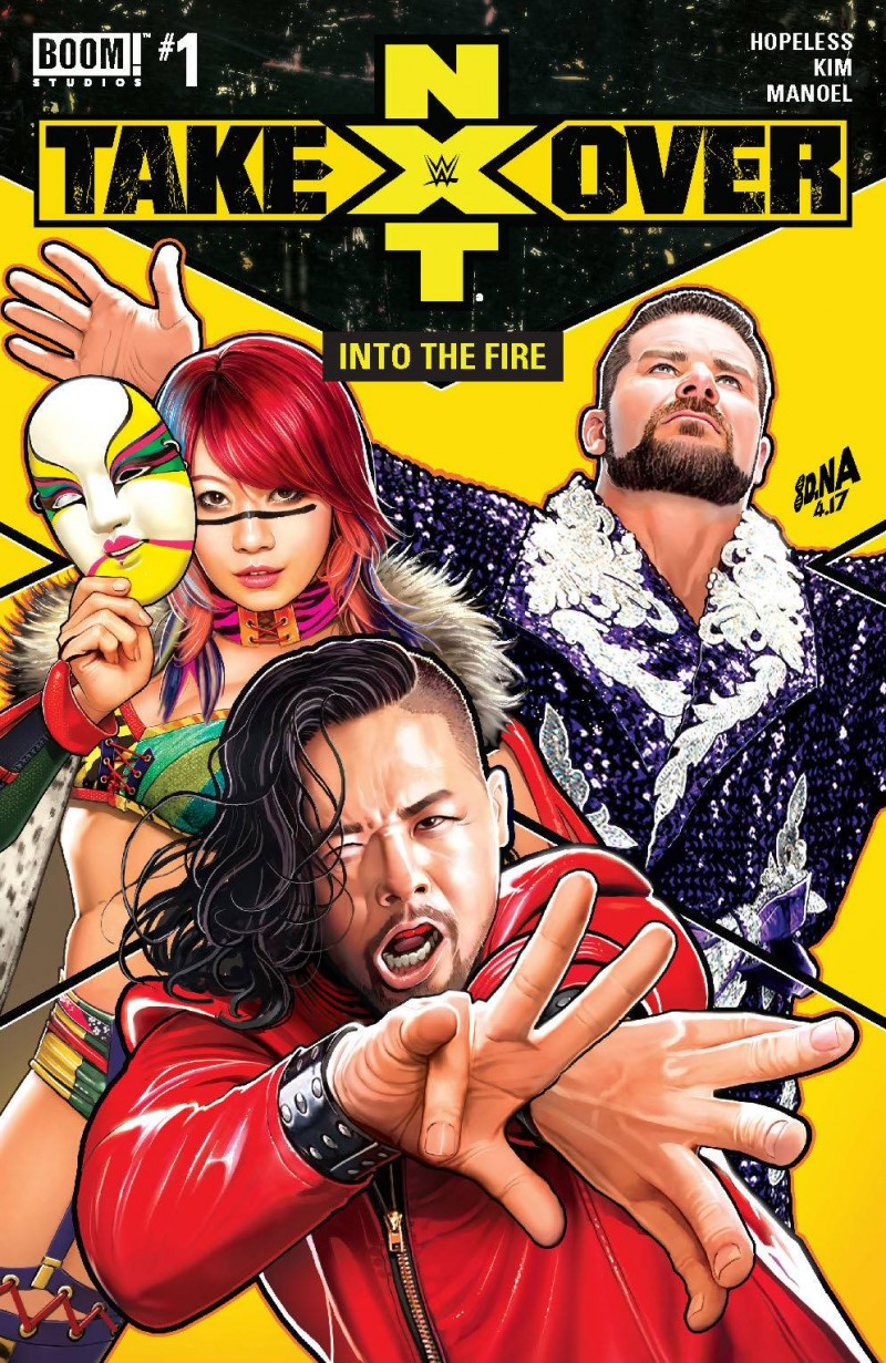WWE Nxt Takeover Into The Fire #1