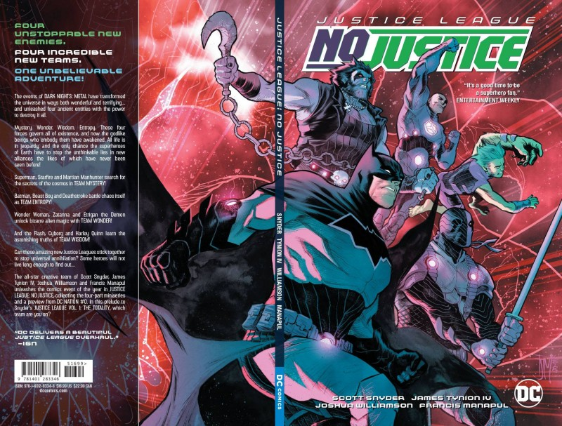 Justice League TP No Justice