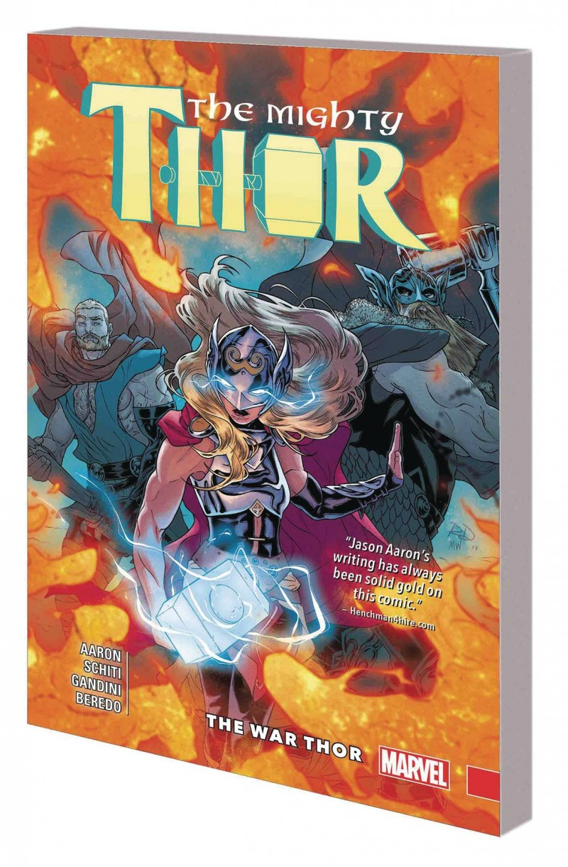 Mighty Thor TP V4 War Thor