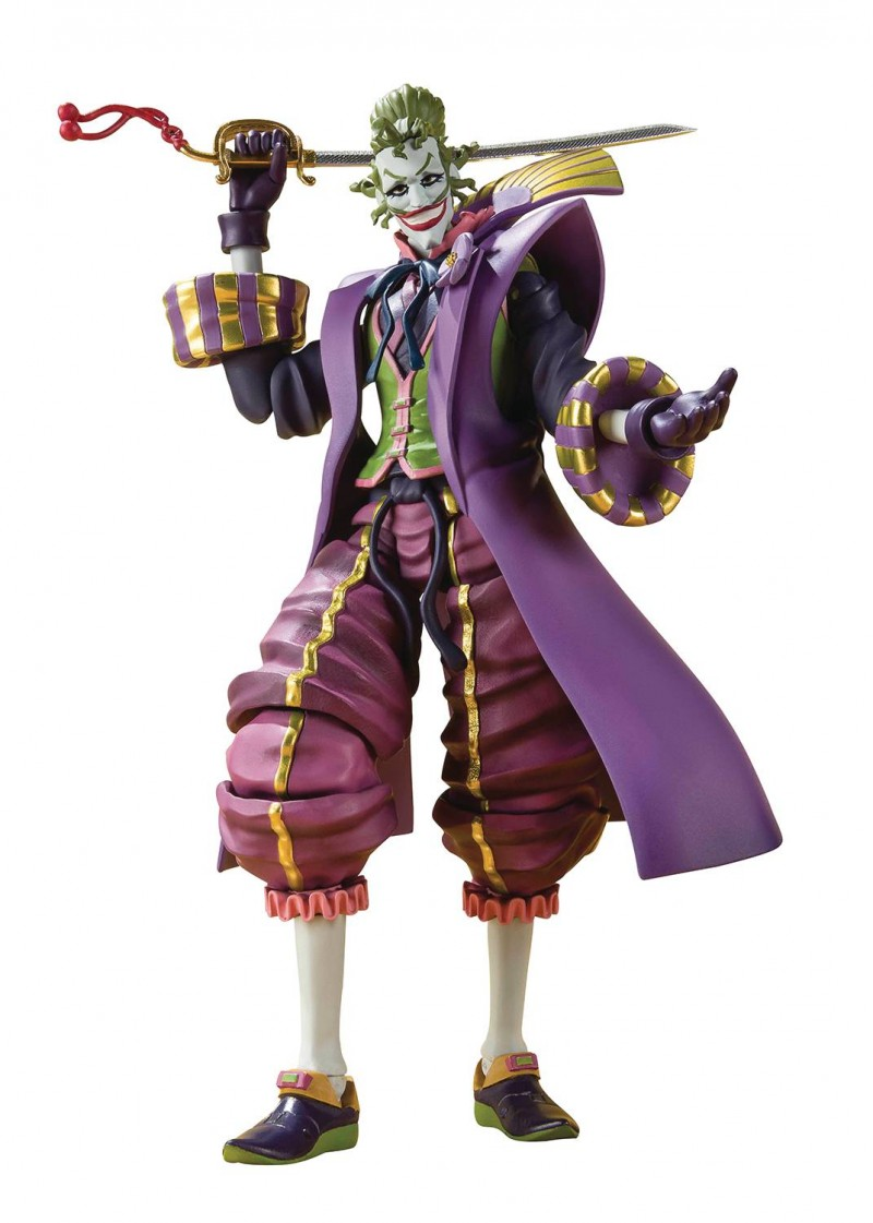 DC SHFiguarts AF Ninja Batman Joker Demon King