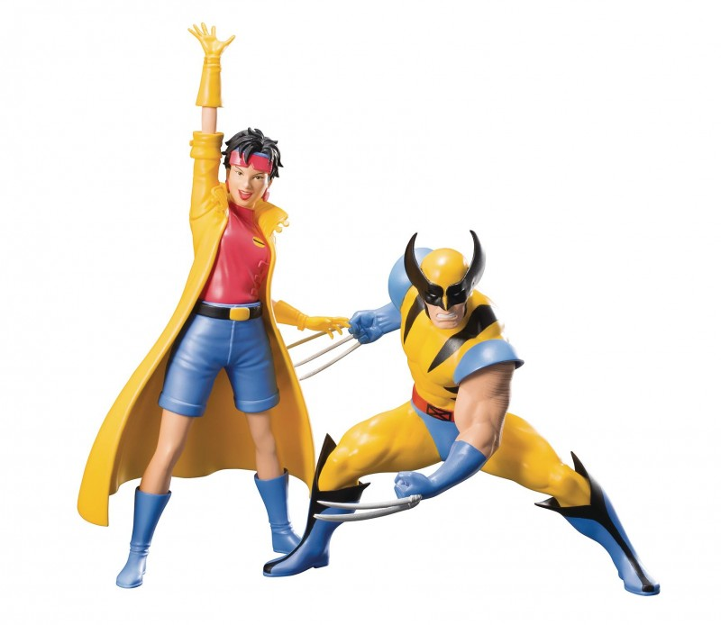 Marvel Statue Artfx X-Men 92 Wolverine and Jubilee 2-Pack