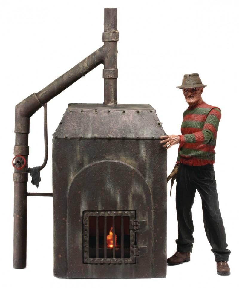 Nightmare On Elm St Diorama Freddy Furnace