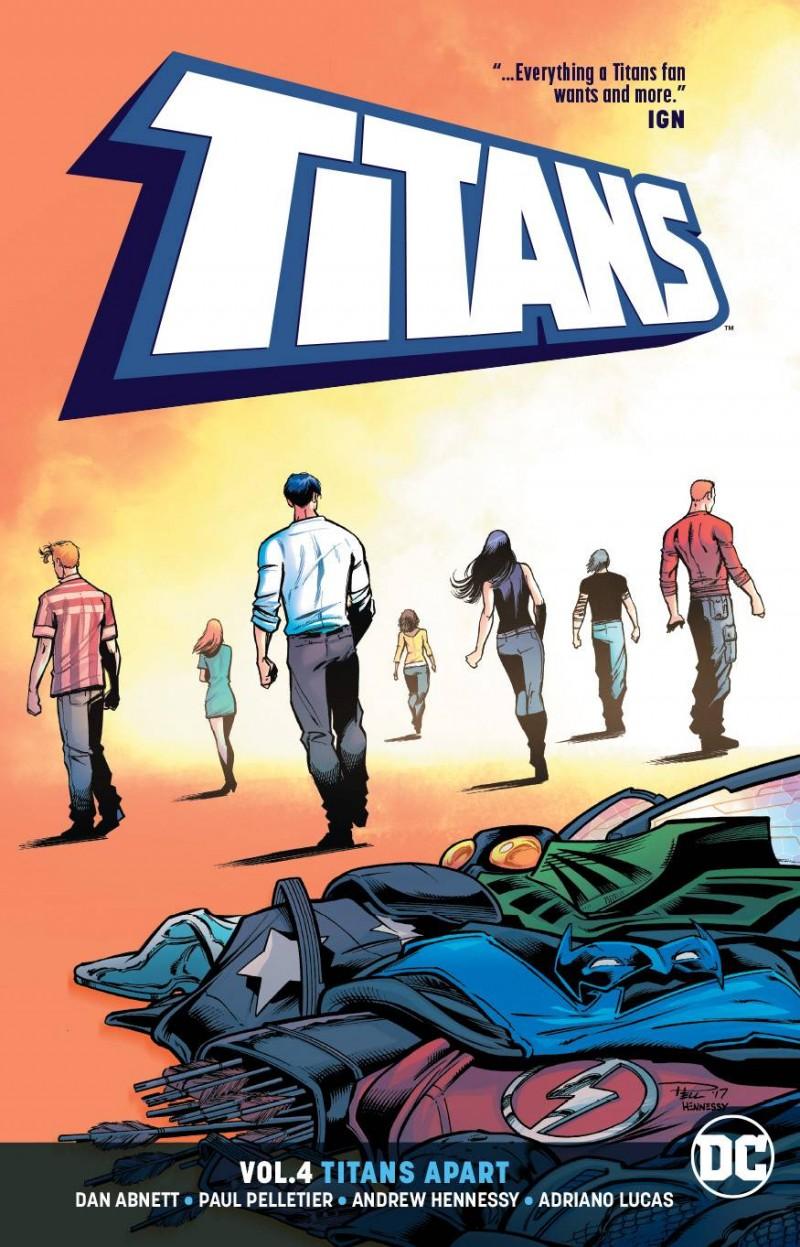 Titans TP V4 Titans Apart
