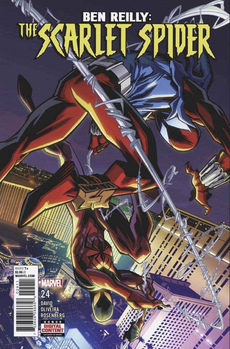 Ben Reilly Scarlet Spider #24