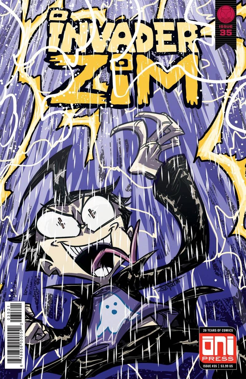 Invader Zim #35 CVR B