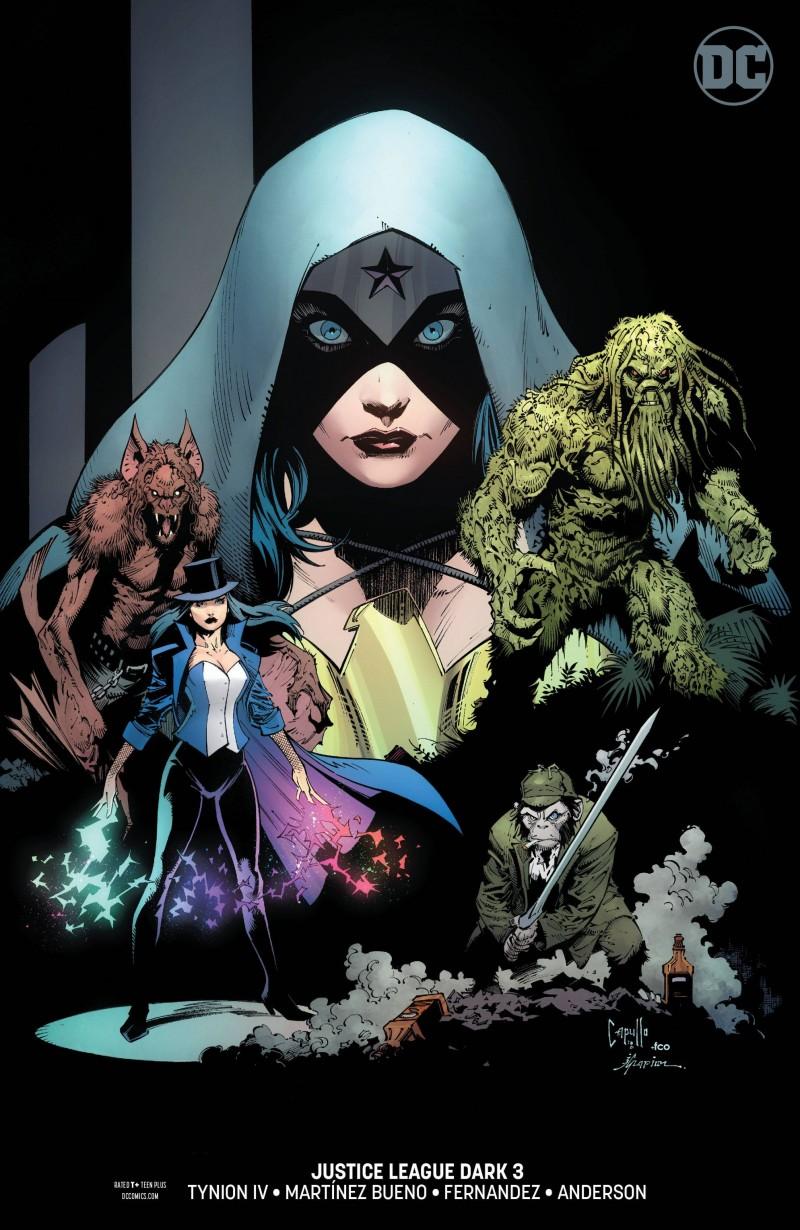 Justice League Dark V2 #3 CVR B