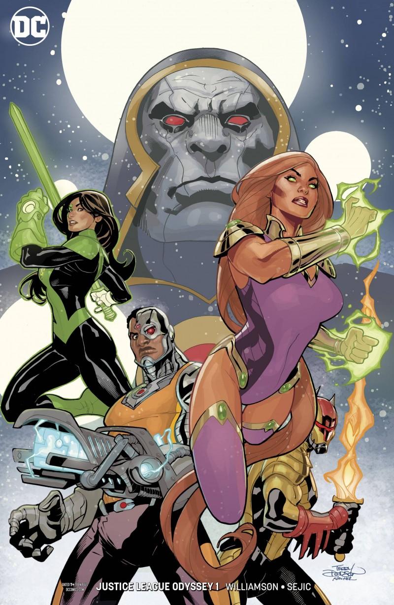 Justice League Odyssey #1 CVR B