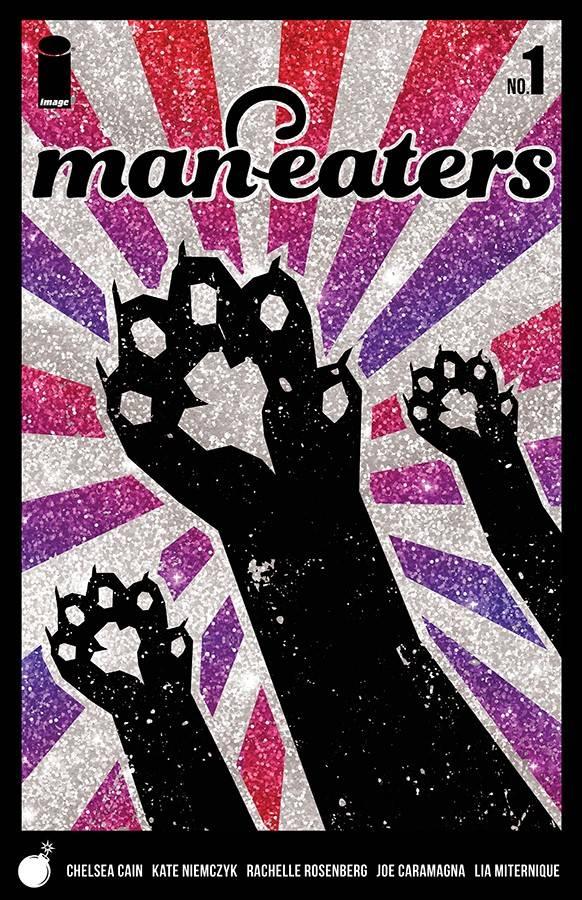 Man-Eaters #1 CVR B Glitter
