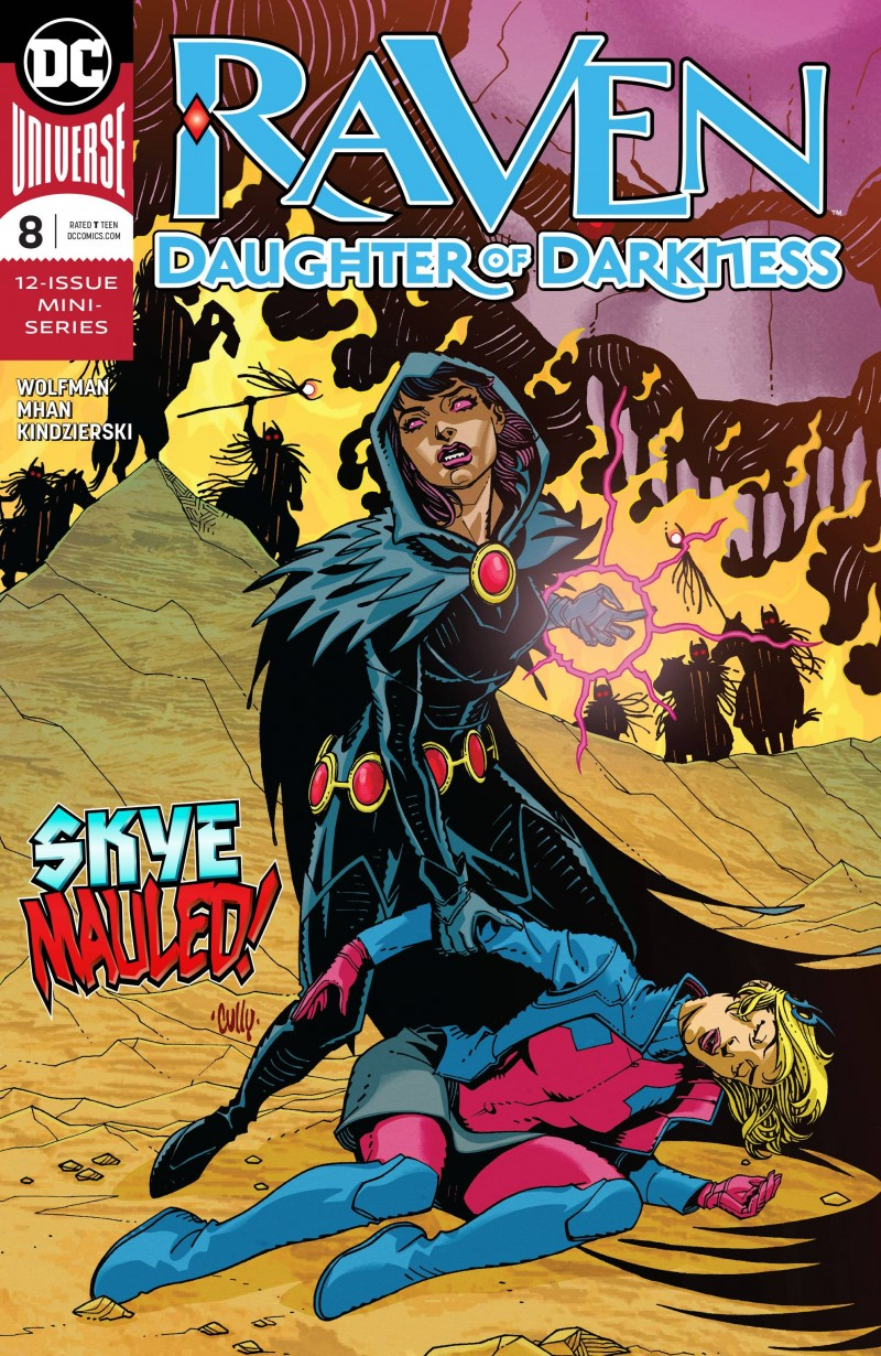 Raven Daughter of Darkness #8