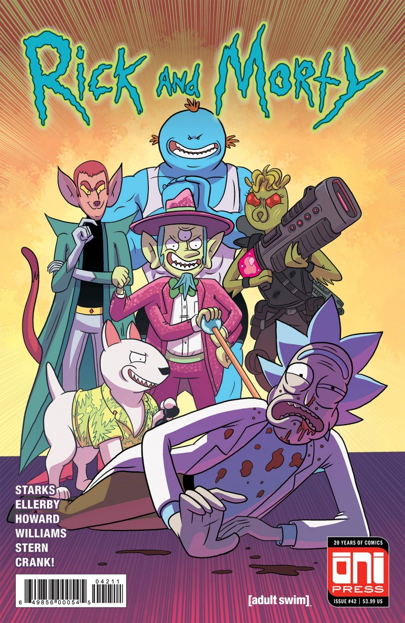 Rick and Morty #42 CVR A