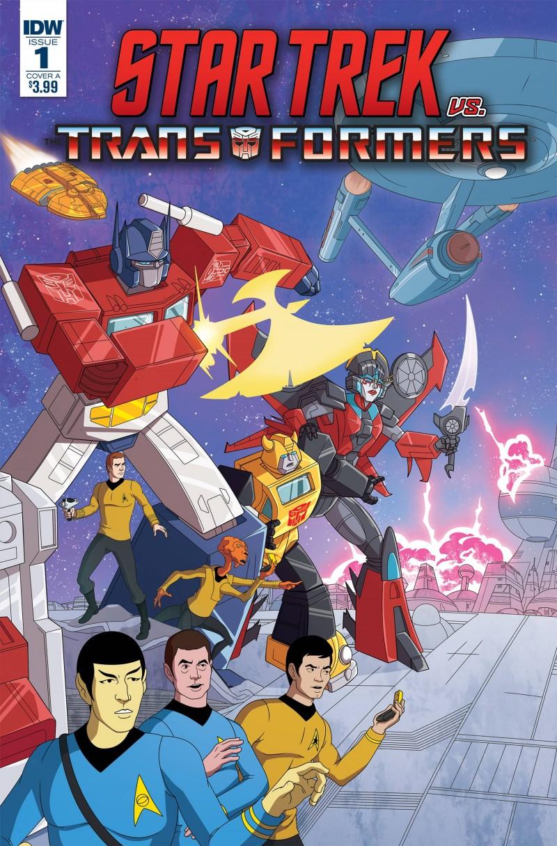 Star Trek Vs Transformers #1 CVR A Murphy