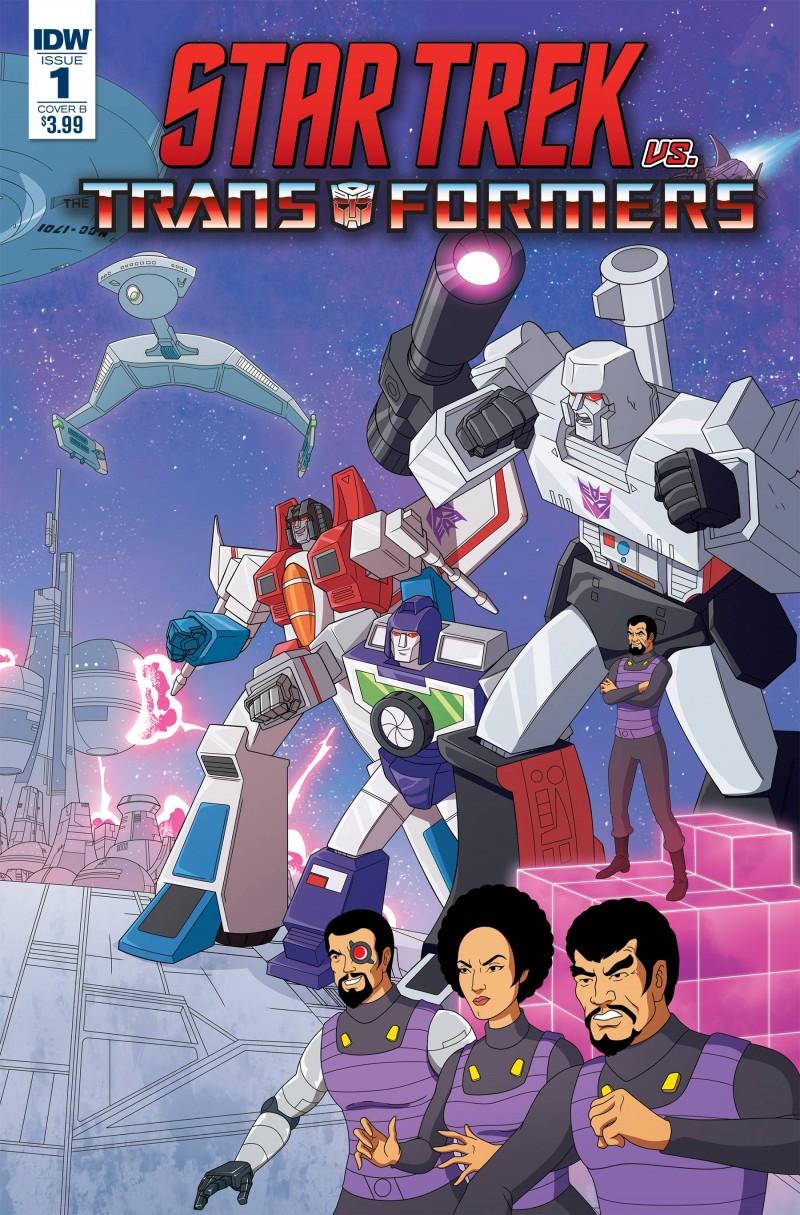Star Trek Vs Transformers #1 CVR B Murphy