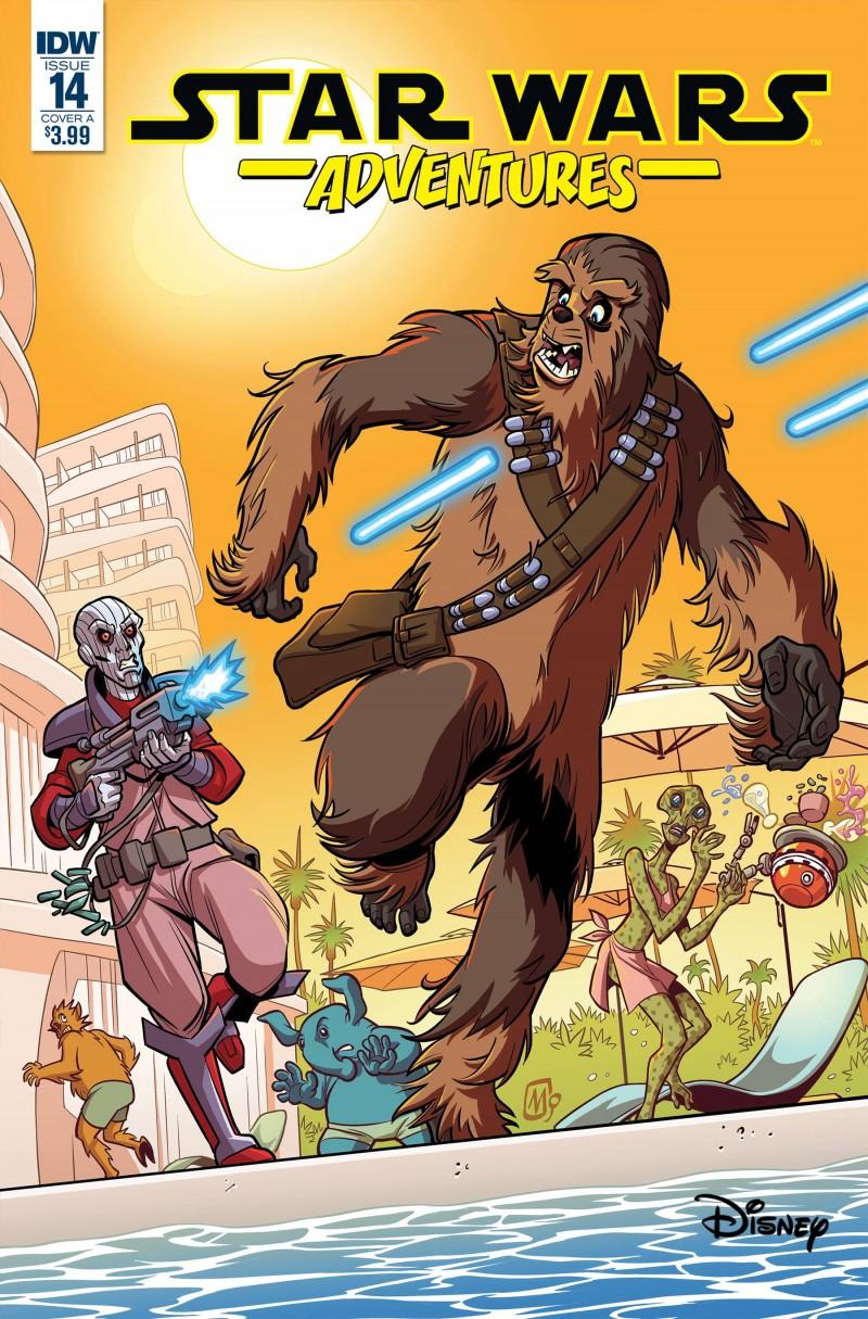 Star Wars Adventures #14 CVR A Mauricet