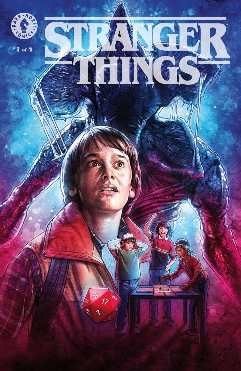 Stranger Things #1 CVR C Lambert