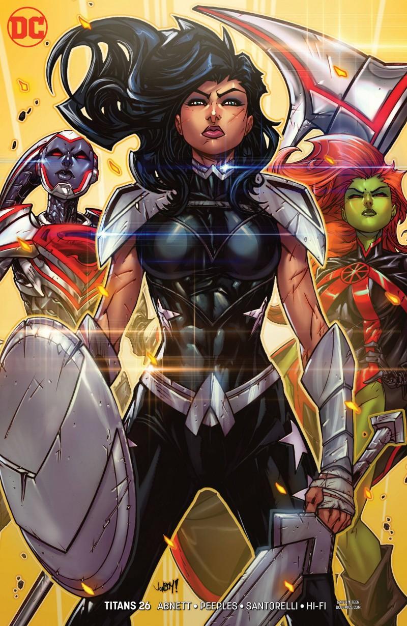 Titans  #26 CVR B