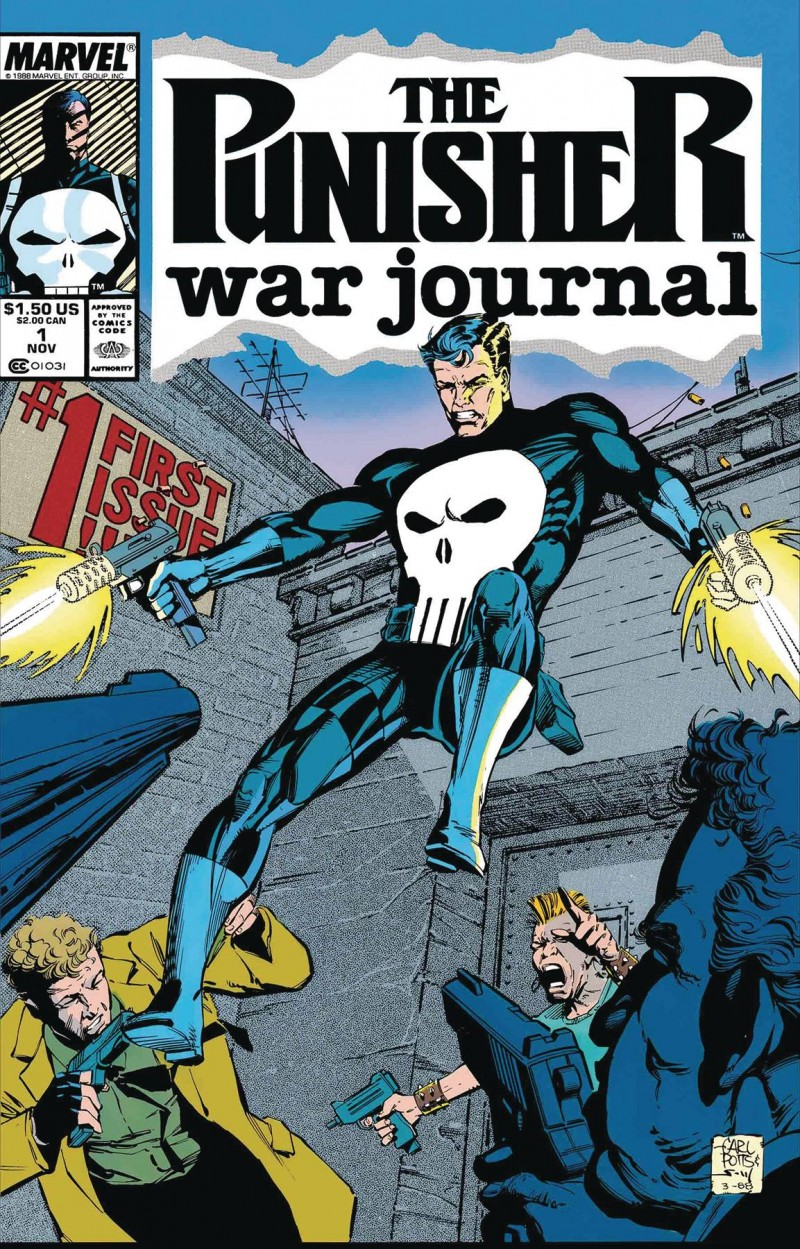 True Believers One-Shot Punisher War Journal by Potts and Lee