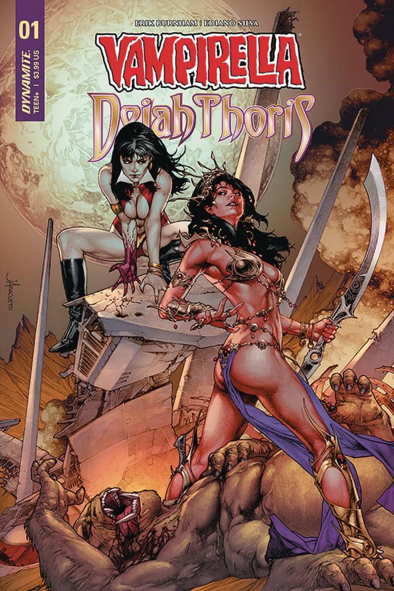 Vampirella Dejah Thoris #1 CVR A Anacleto