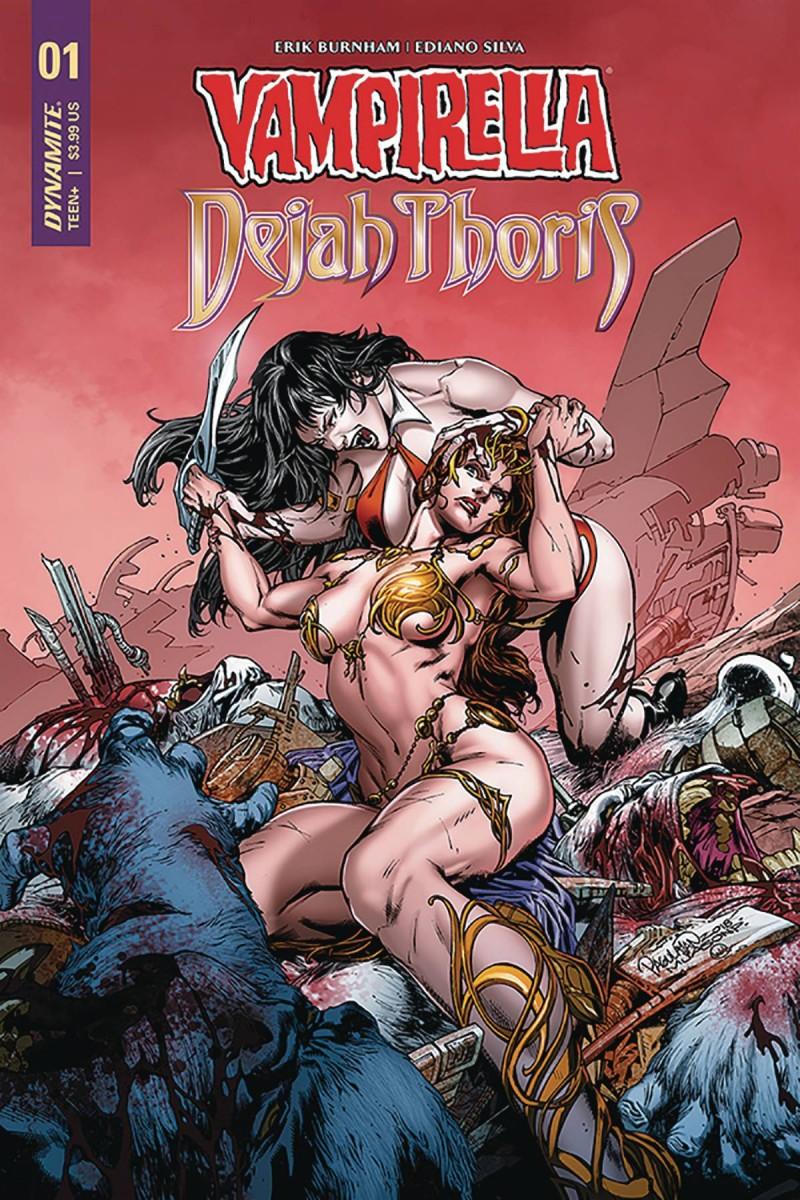 Vampirella Dejah Thoris #1 CVR B Pagulayan
