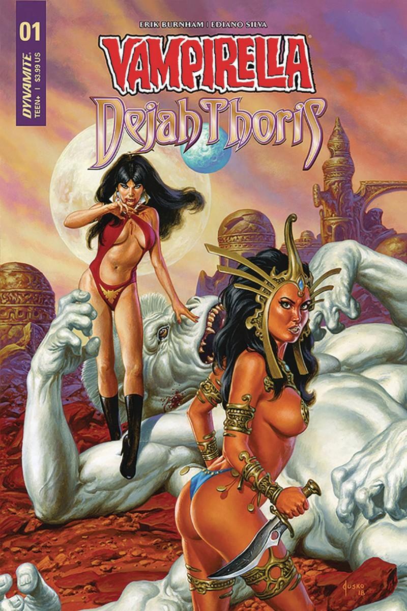 Vampirella Dejah Thoris #1 CVR D Jusko