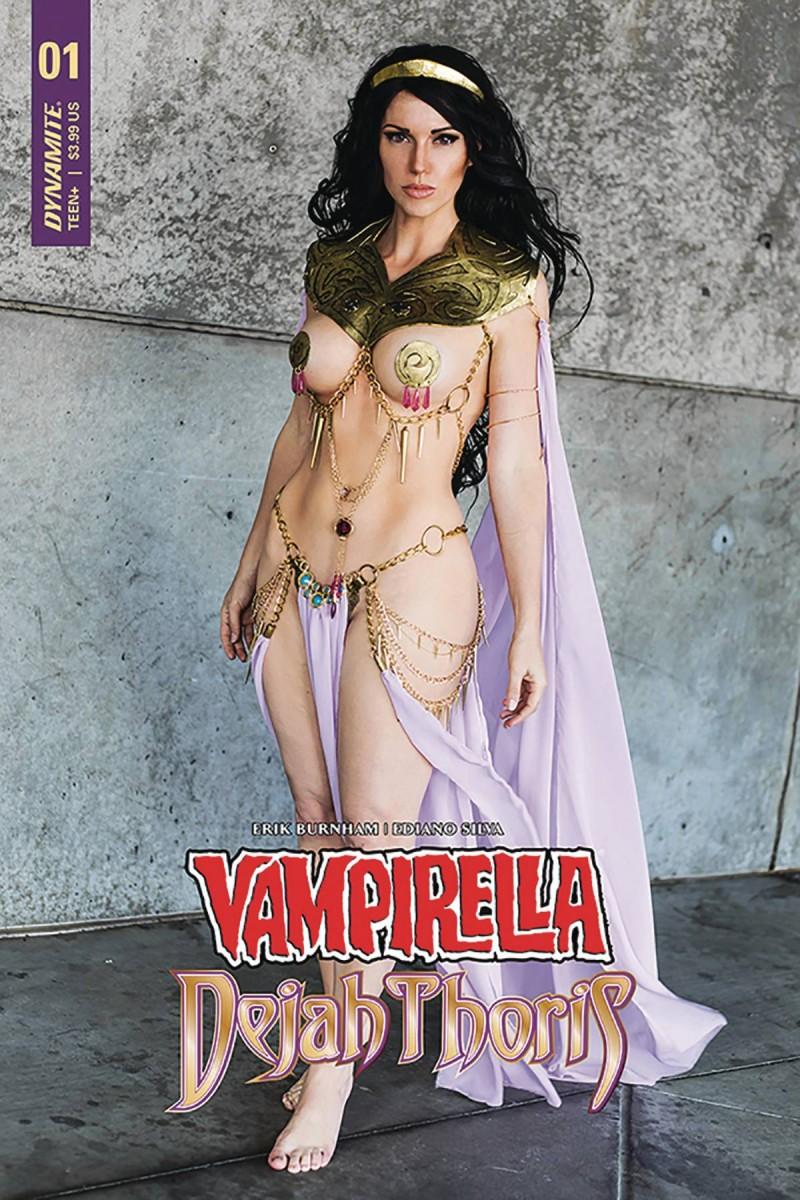 Vampirella Dejah Thoris #1 CVR F Dejah Thoris Cosplay