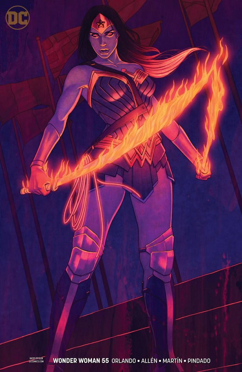 Wonder Woman V5 #55 CVR B