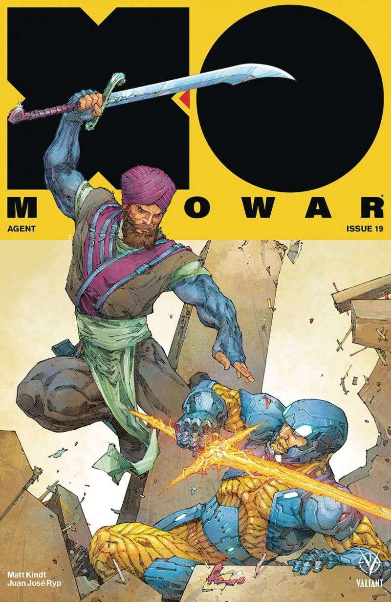 X-O Manowar  #19 CVR A Rocafort