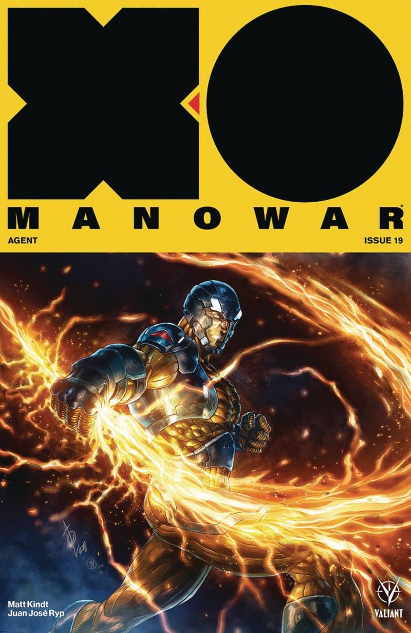X-O Manowar V4 #19 CVR B Quah