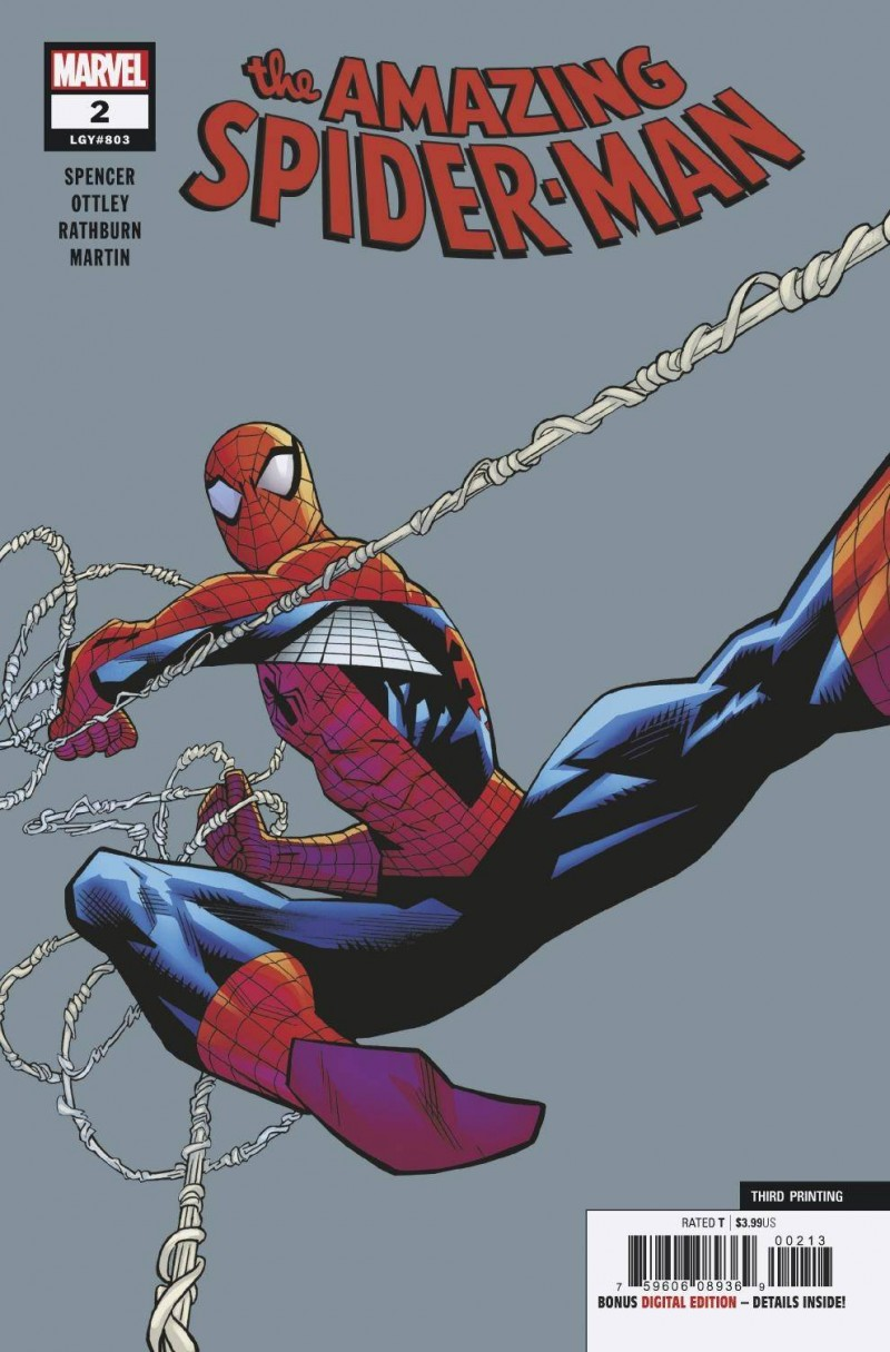 Amazing Spider-Man V5 #2 Third Printing