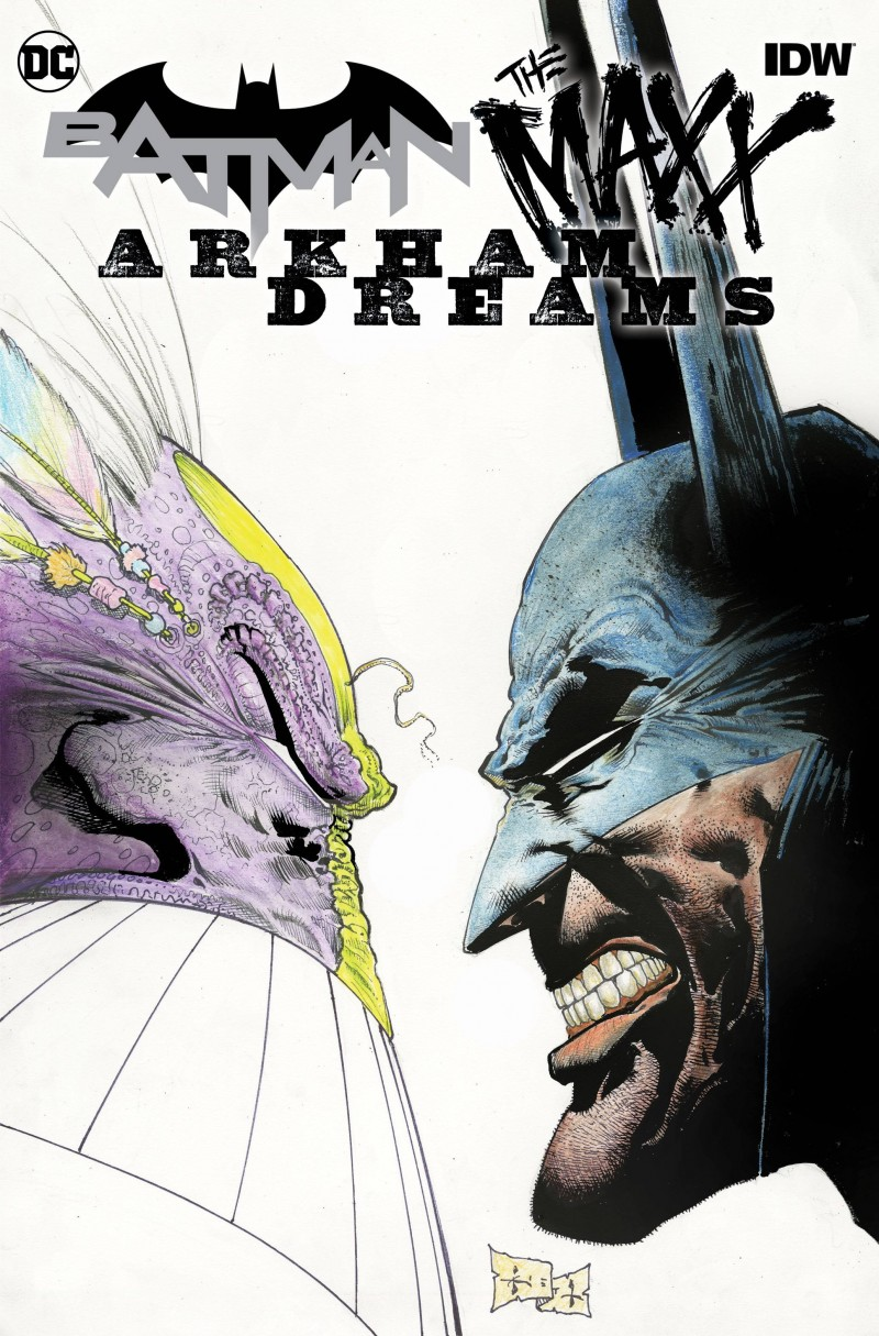 Batman the Maxx Arkham Dreams #1 CVR A