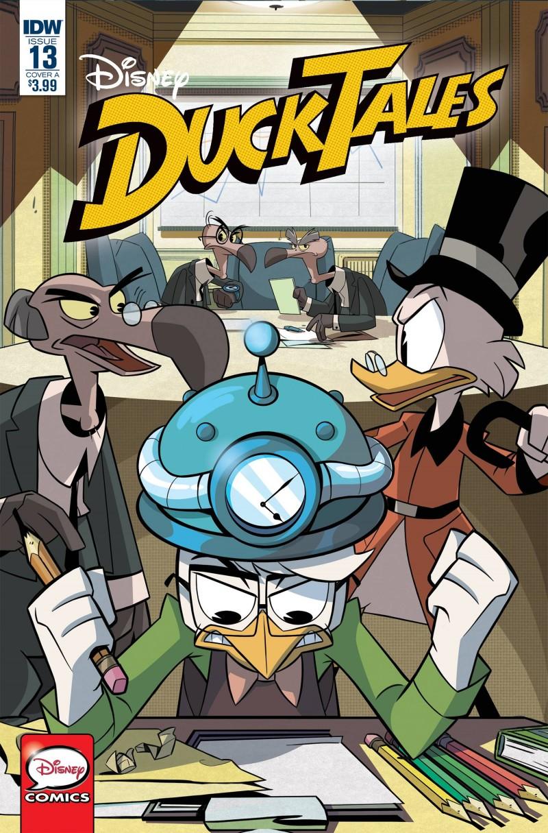 Ducktales #13 CVR A Fontana