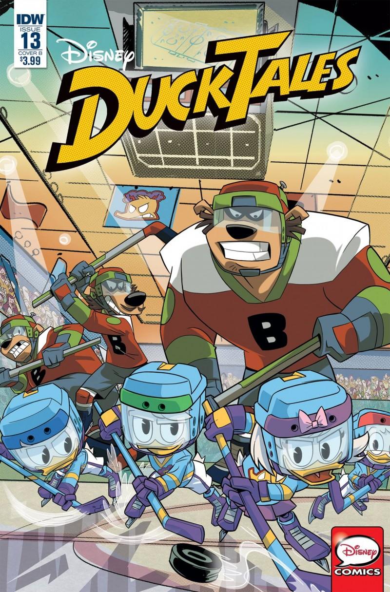 Ducktales #13 CVR B Ghiglione