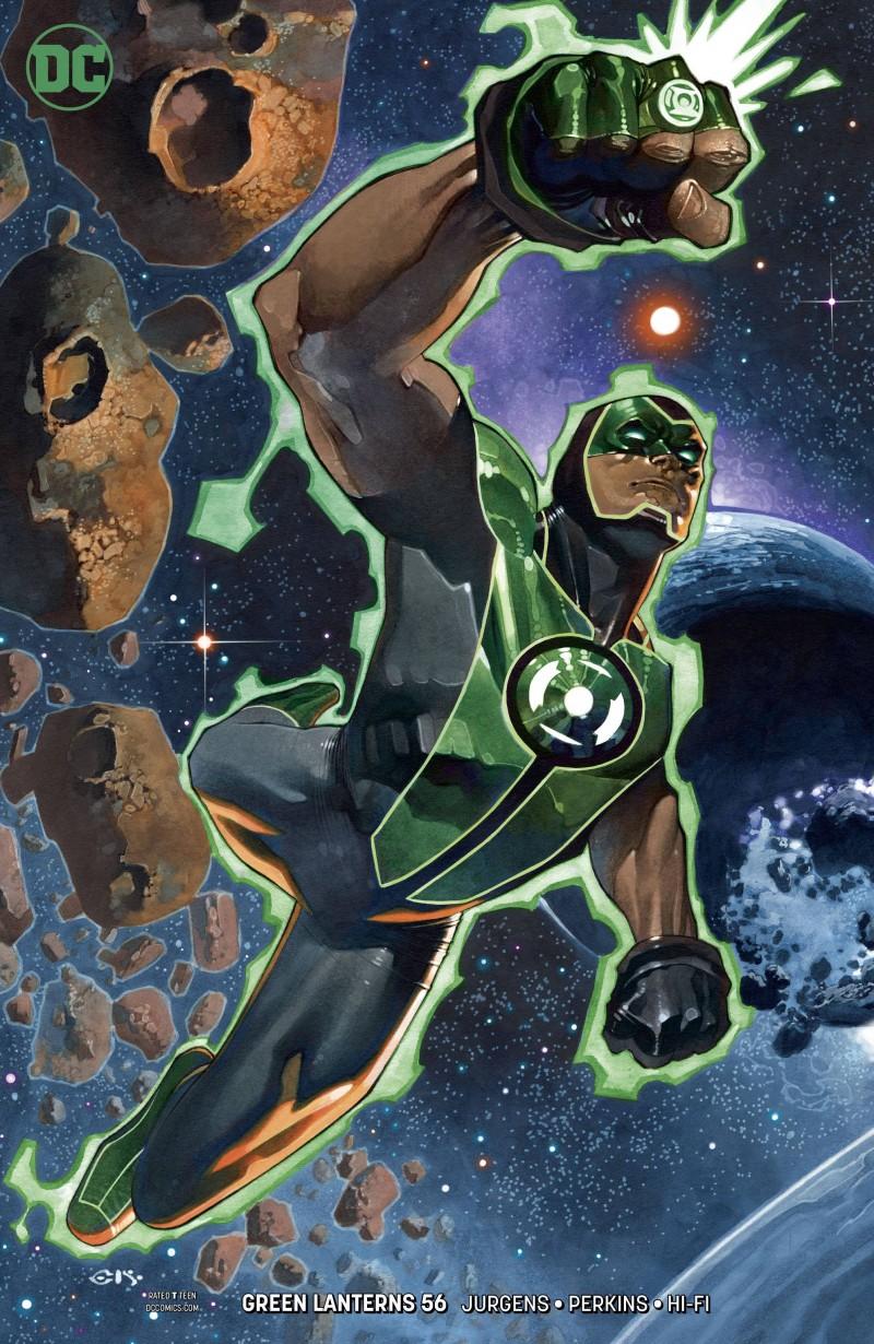 Green Lanterns #56 CVR B