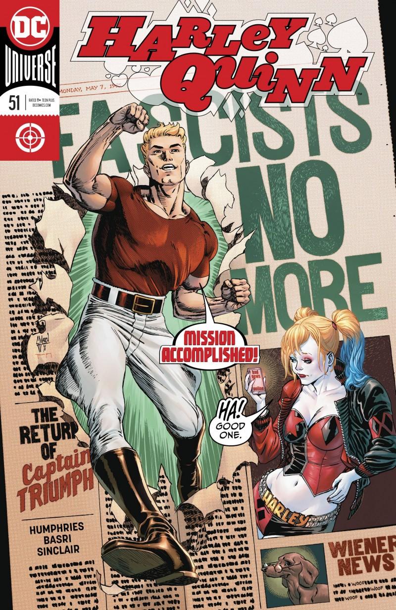Harley Quinn V3 #51 CVR A