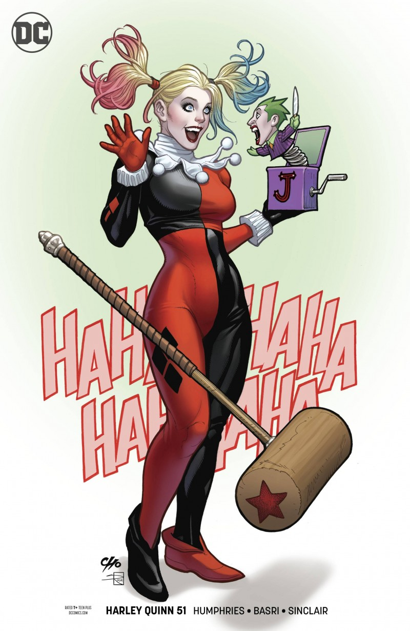 Harley Quinn V3 #51 CVR B