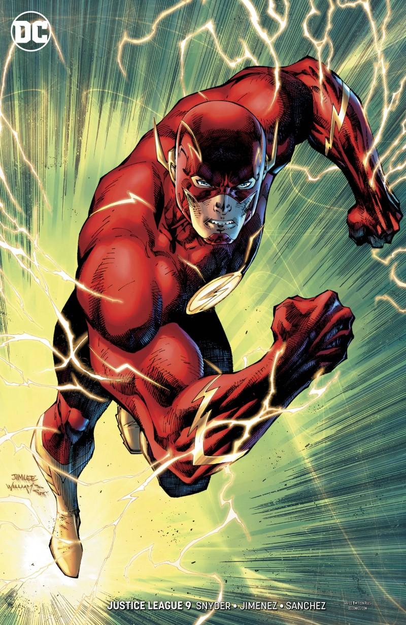 Justice League V3 #9 CVR B