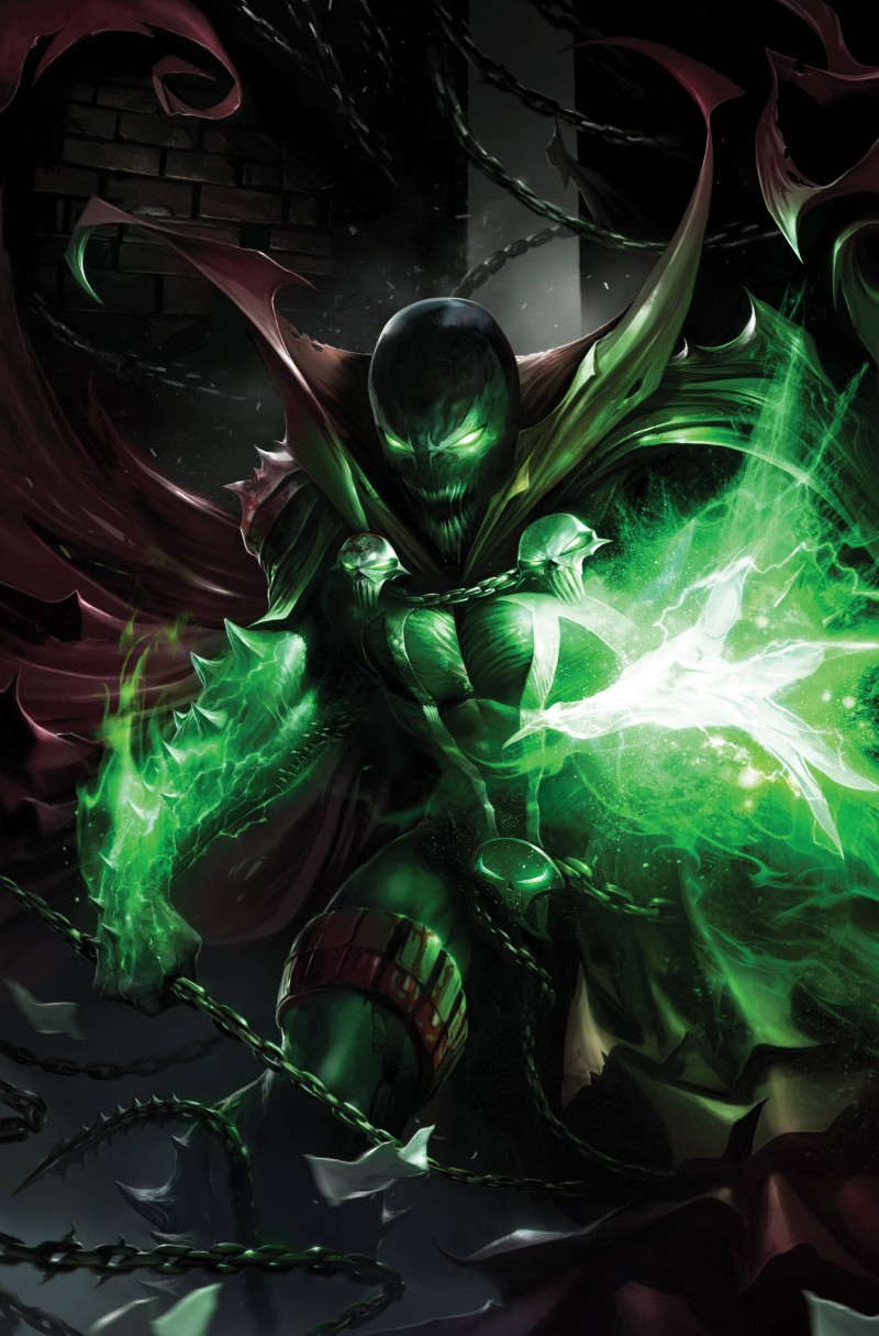 Spawn #290 CVR C Mattina Virgin