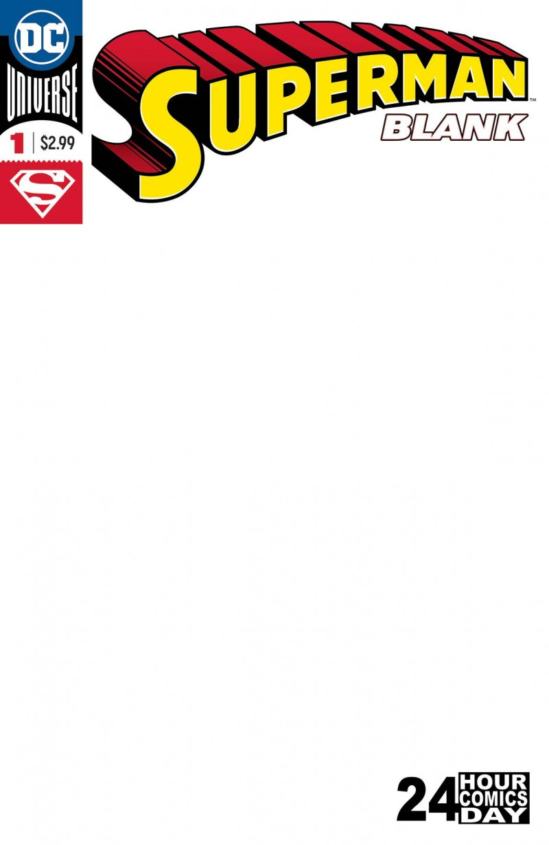 Superman Blank Comic #1