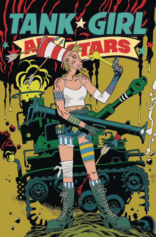 Tank Girl All Stars #4 CVR C Mcmahon