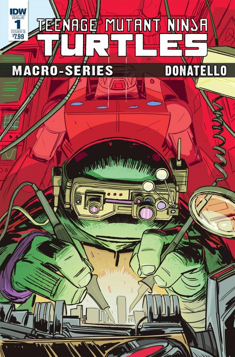 TMNT Macroseries #1 Donatello CVR B Brown