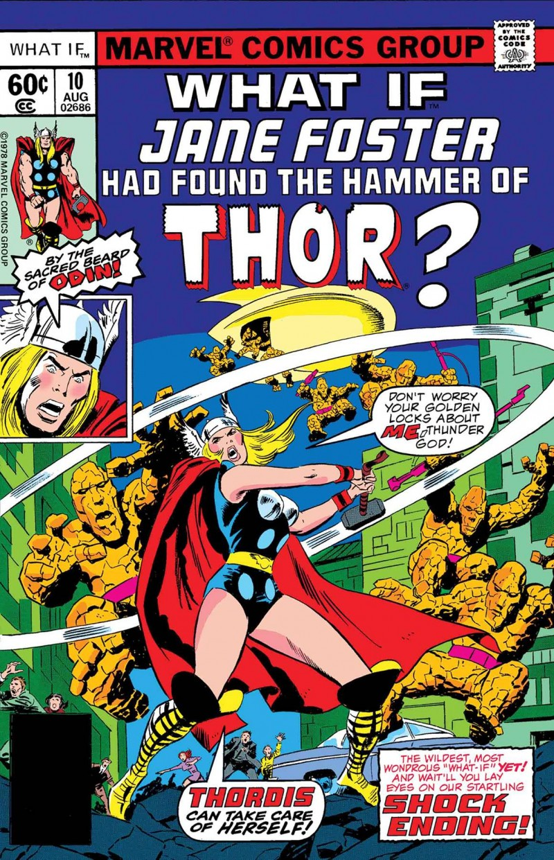 True Believers One-Shot What If Jane Foster Found Hammer of Thor