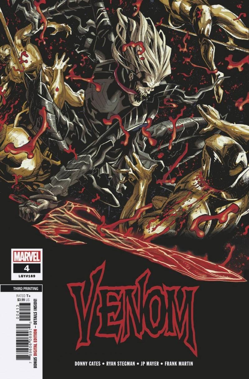 Venom V4 #4 Third Printing