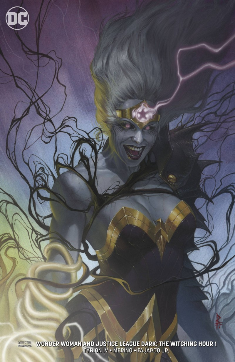 Wonder Woman and Justice League Dark Witching Hour CVR B