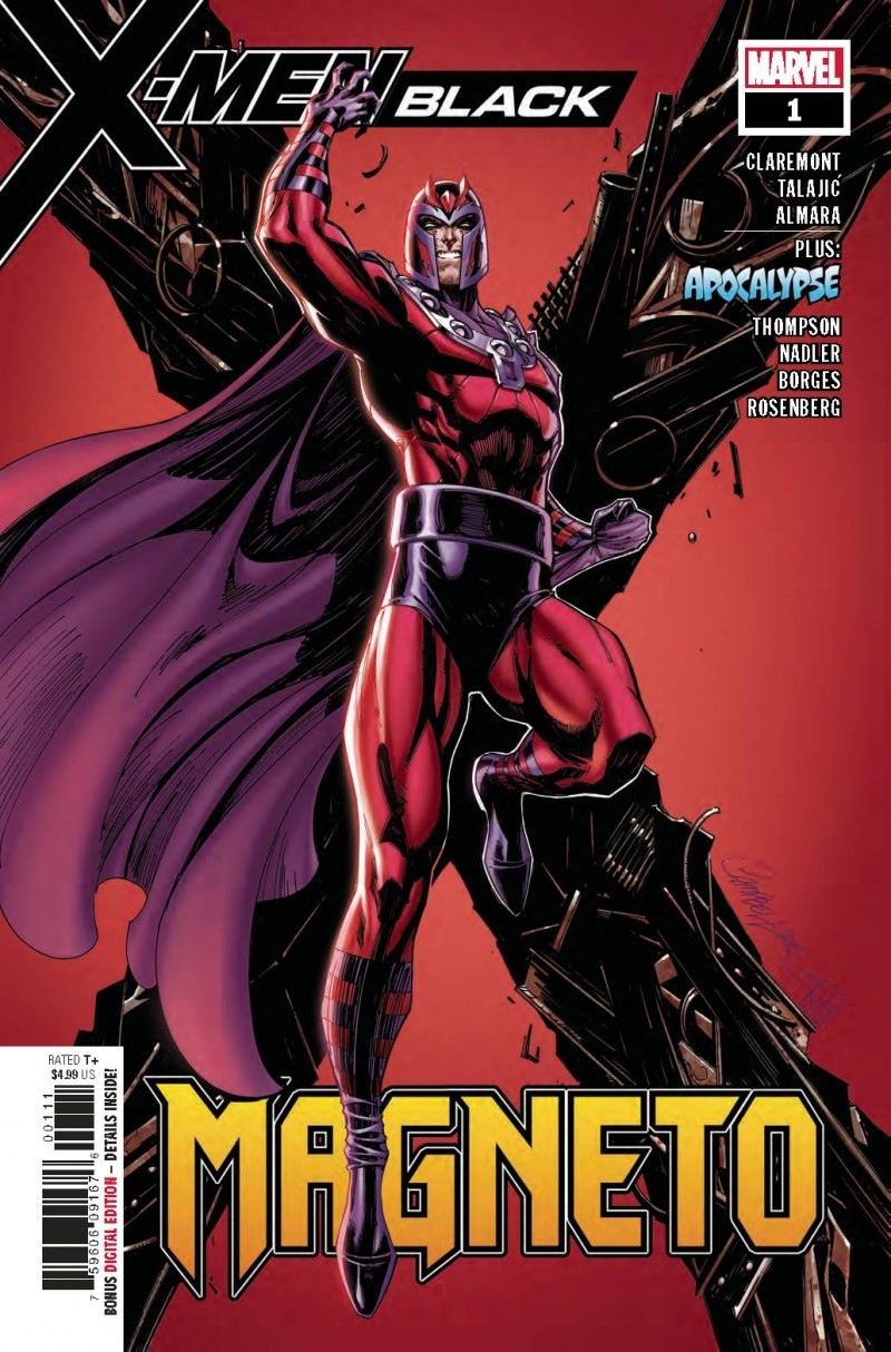 X-Men Black One-Shot Magneto