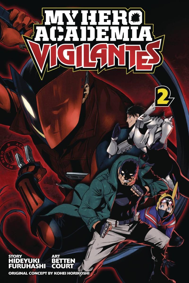 My Hero Academia GN Vigilantes V2