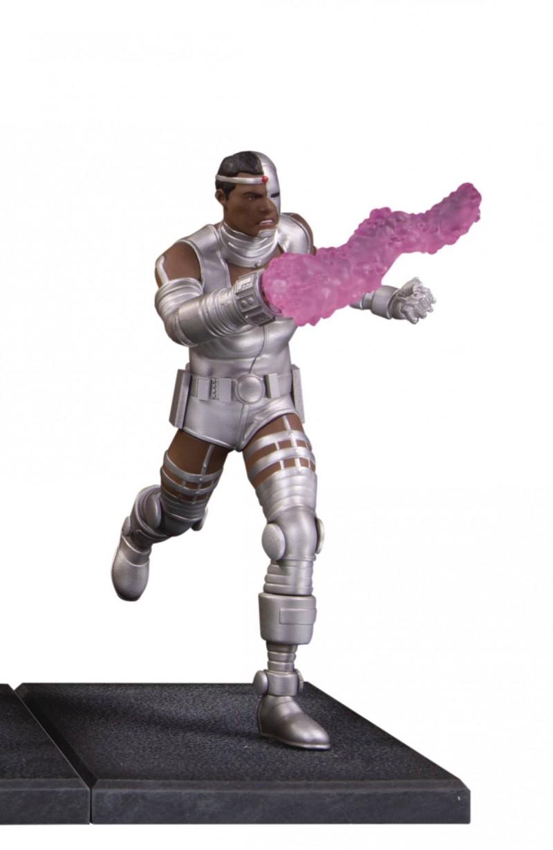 DC Statue Teen Titans Mulit Part Cyborg