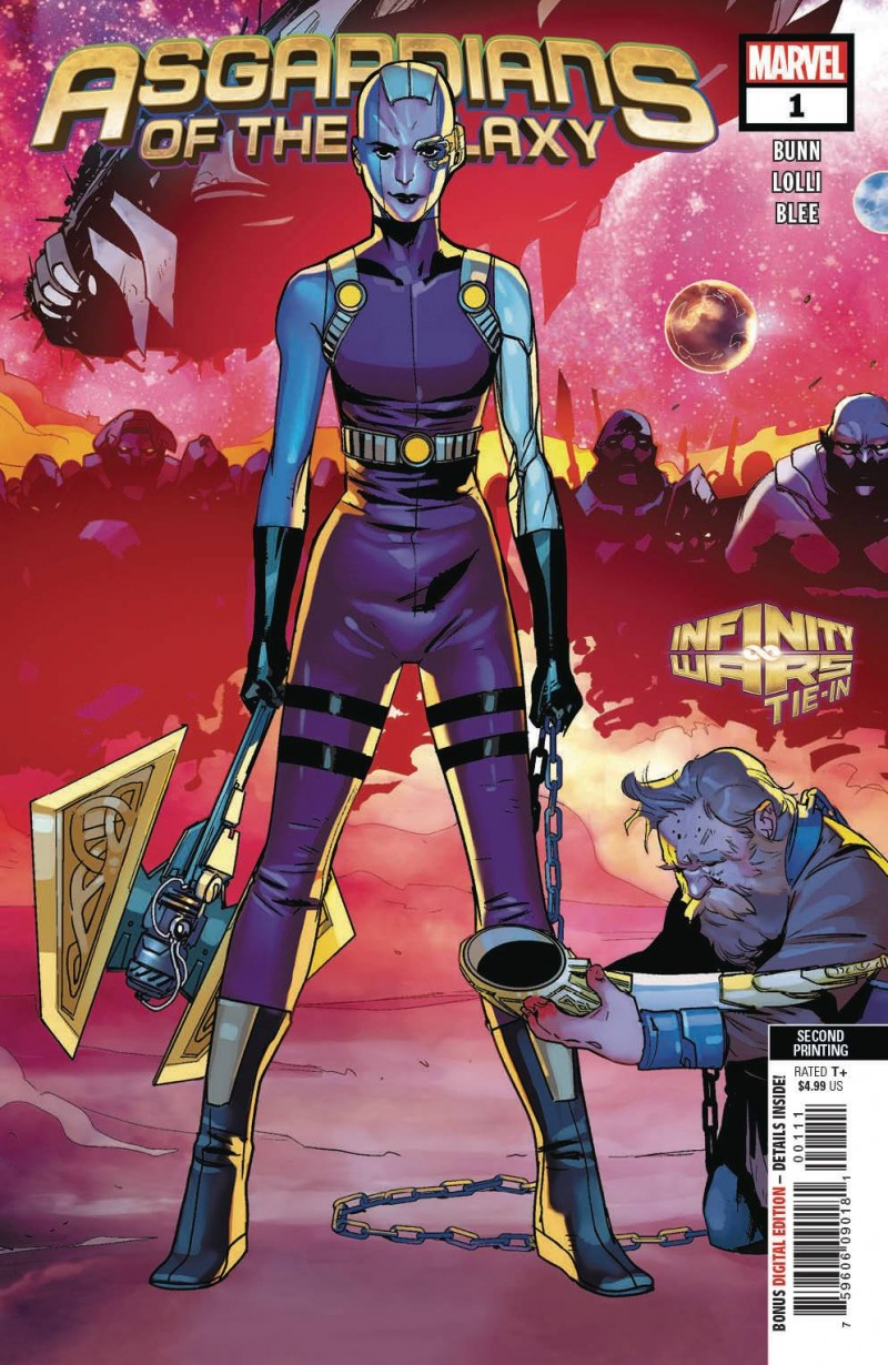 Asgardians of the Galaxy #1 Second Printing