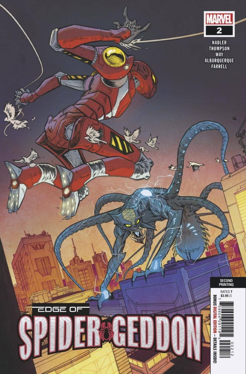 Edge of Spider-Geddon #2 Second Printing
