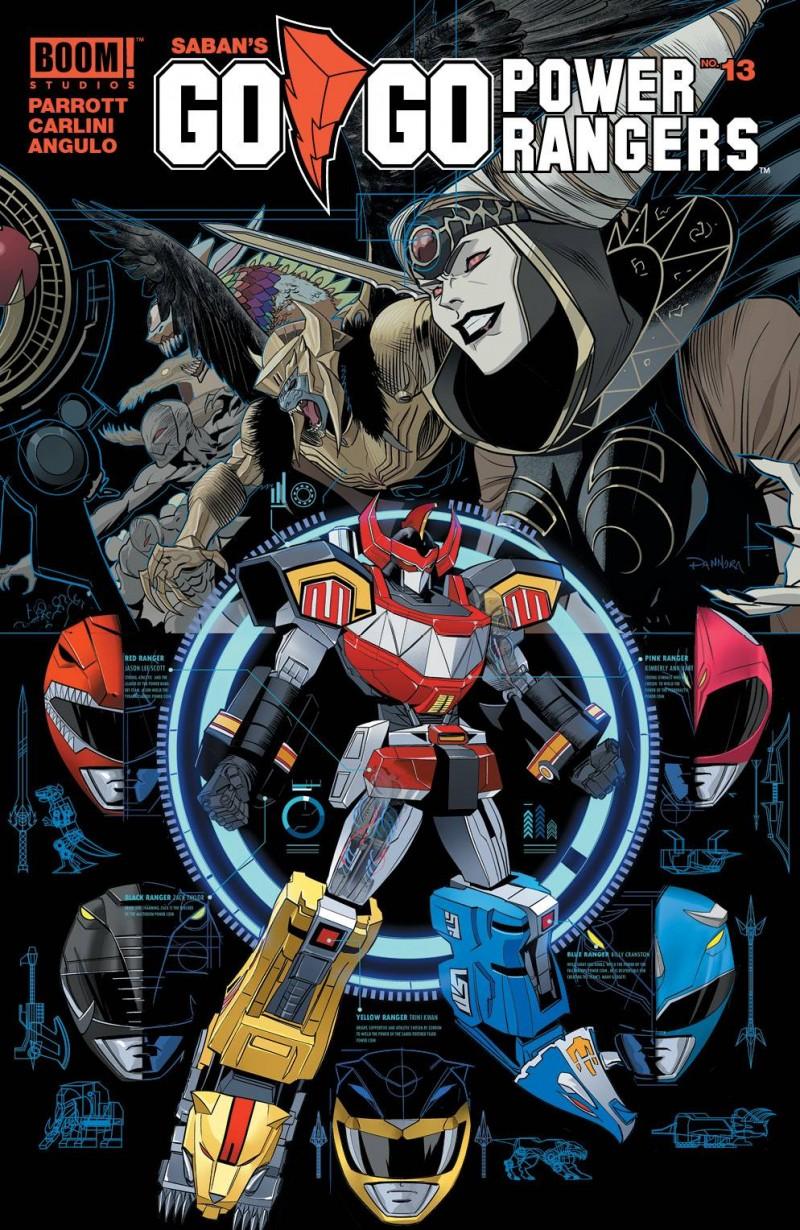 Go Go Power Rangers #13 CVR A