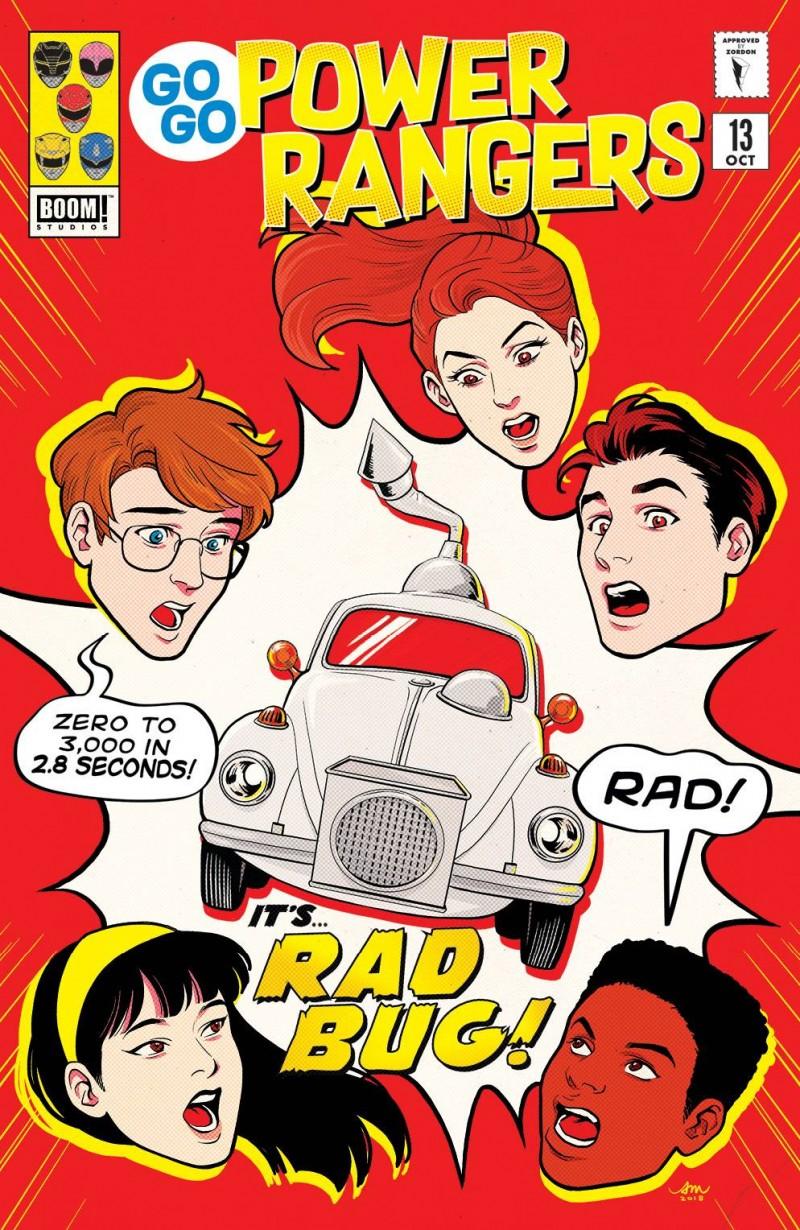 Go Go Power Rangers #13 CVR B